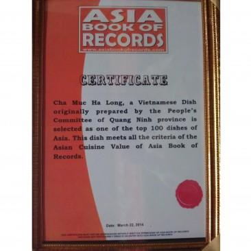 Top 50 kỷ lục đặc sản châu Á | Chả mực Thoan